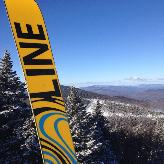 Day one in the books #slidingonsnow #killington #gondola #skiing #snowboarding #winterishere #justsendit #nofilter #lineskis #sendit