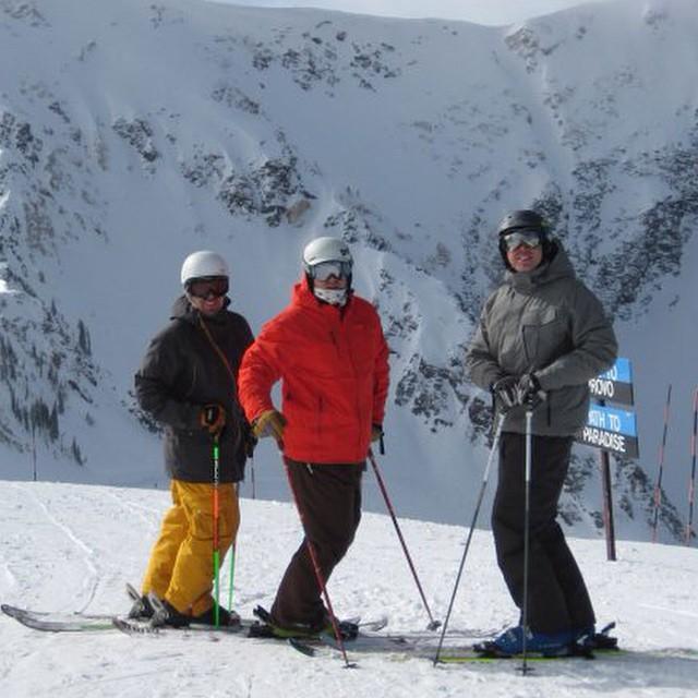 #tbt #snowbird #utah 2010. @drausch1976 #skiing #snowboarding #mineralbasin #justsendit #winterscoming #snow #sendit #powder #fulsend