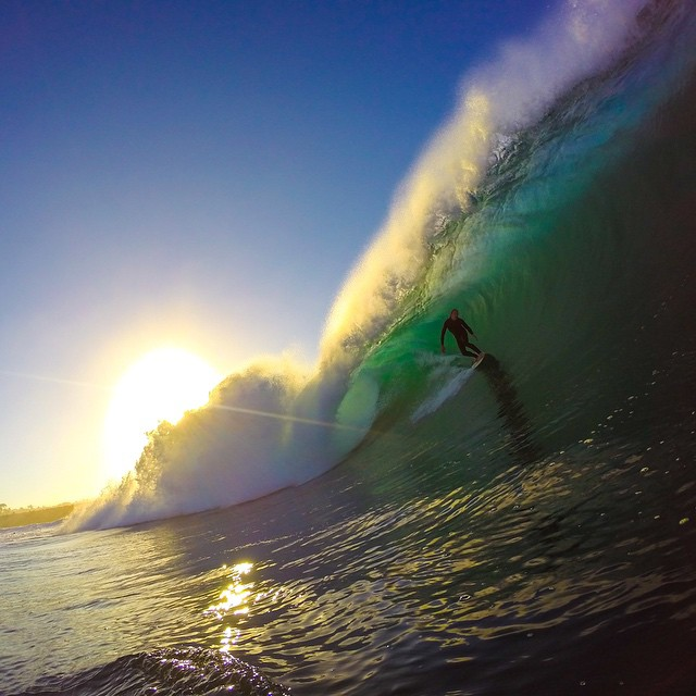Photo of the Day! @rhodesy_89 putting on a backside clinic at Wedge. Photo by @neilholliday.