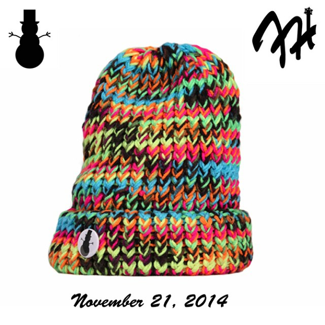 Now on sale through www.frostyheadwear.com #Limited #FrostyHeadwearSeries #FrostyHeadwear #Beanies #MadeinMinnesota