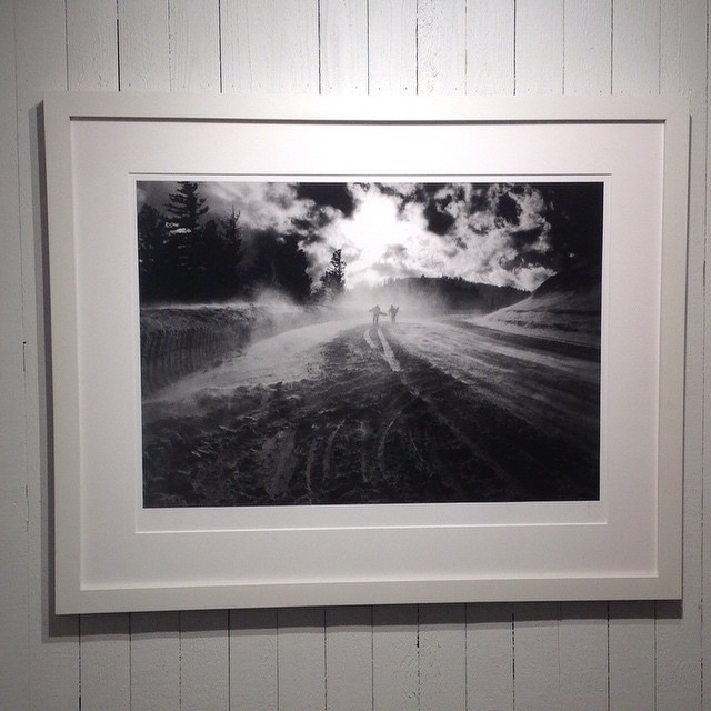 The Pass by Ari Macropolous, stunning in life and perfect on the wall.  #asymbolart #arimarcopolous