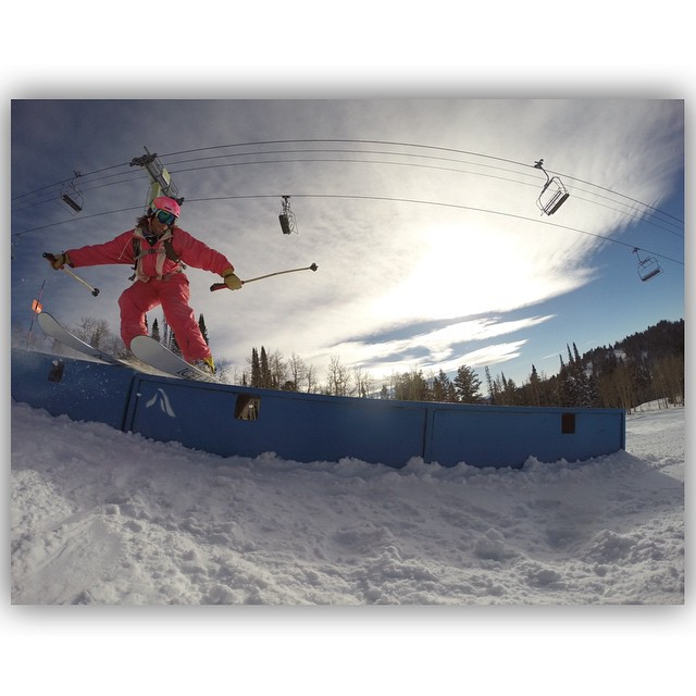 """Stellar opening day at """"The Ghee"""" today with TanSnowMan, Kody Kirkland, Ivan Marcinko, and Bo Ferro!  TanSnowMan took the opportunity to bring out his pink jumper and bust a few moves for Ivan's camera... #TribeUP pink jumper!  Photo: @ivanmarcinko..."""