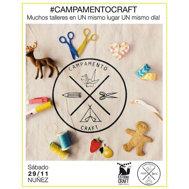 Tomorrow el #campamentocraft.