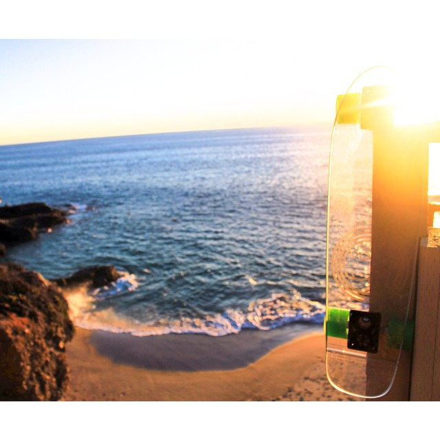 Your dose of #jellysunset! #jellyskateboards #jellylife #lagunabeach #sunsets