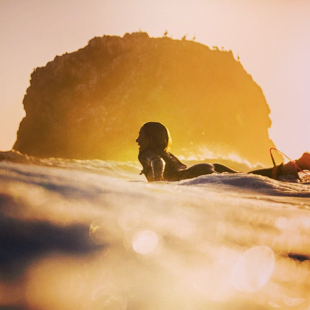 On the pot of liquid gold • @alisonsadventures #surfisswell #bigsurfari