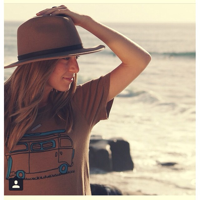 Beyond grateful for the blog post by @braidedbliss featuring our women's Adventure tee in coyote brown