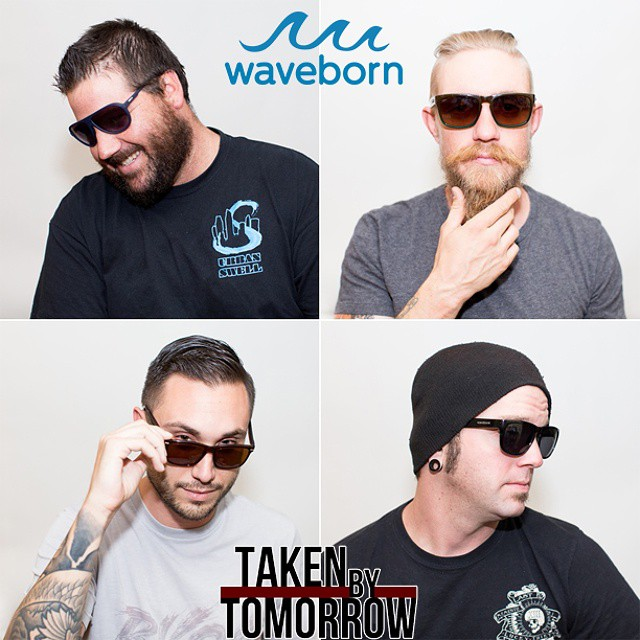 Checkout another great musical group @takenbytomorrow rocking there favorite shades. ‪#waveborn‬ ‪#‎takenbytomorrow‬ ‪#‎music‬ ‪#‎shades‬ ‪#‎findthesun‬