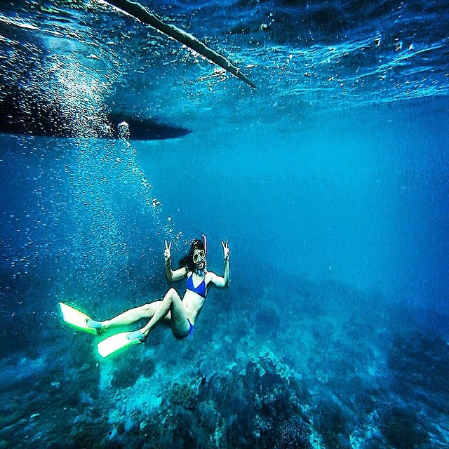 That water looks warm.  Dreaming of summer!  @insta_susi  #getoutthere #mermaid #miolainaction #underthesea
