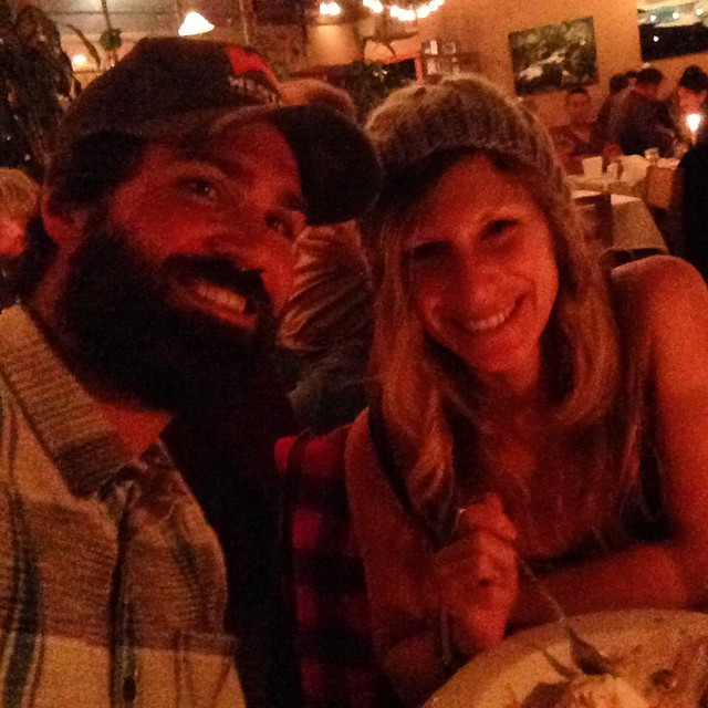 It all started in the mountains 4 years ago ... Happy #anniversary to my mountain man #love #romance #tahoe #lumbersexual