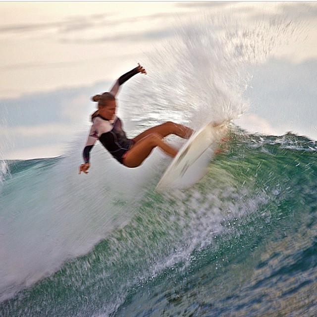 @amy_kotch ripping a #sunday #snap in her #inthecurl #bottoms -- #photo by @richard_kotch