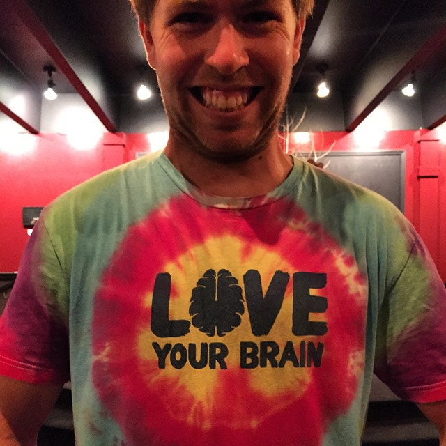 So stoked to hang out with the one and only @kevinpearce last night as he gave his talk about @loveyourbrain here in Jackson Hole. Thanks for spreading such positive vibes, awareness about how to prevent traumatic brain injuries and reminding us to be...