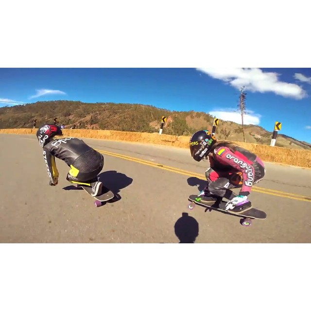Go to www.longboardgirlscrew.com and check LGC #Colombia Ambassador @chelagiraldo & LGC #France Ambassador @spokywoky raw run in Peru during the @idfracing Tarma race. Rad ladies, great skating, amazing views. Yeah!! #longboardgirlscrew #girlswhoshred...