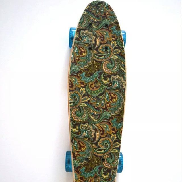 #AkelaSurf  Skateboard  Paisley  Cruiser