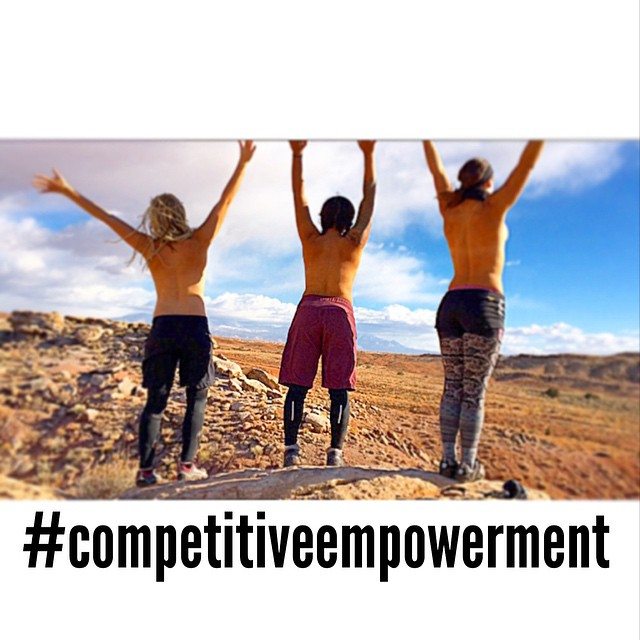 Other women are not my competition. I stand with them, not against them. #inspiralchange #competitiveempowerment #love @theabominableheidimonster @nichelleware