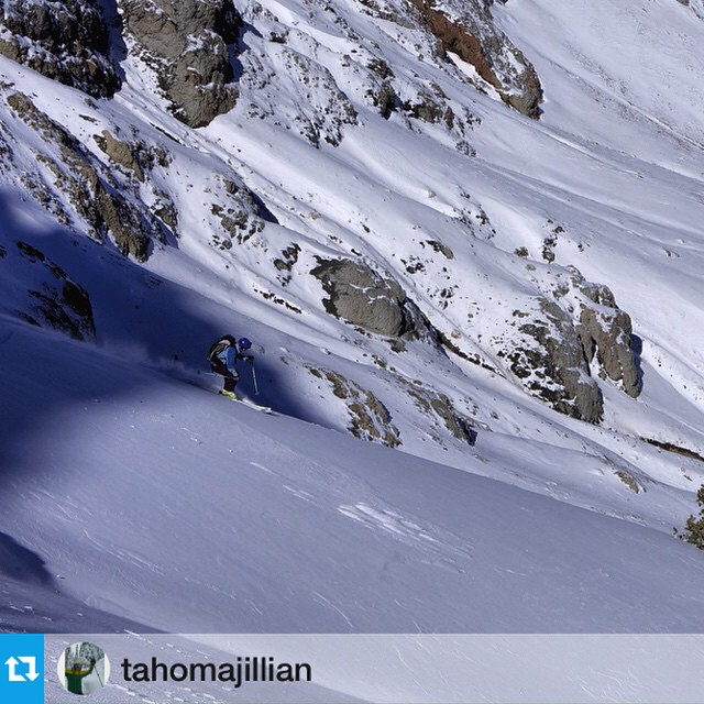 Winter is here! Ambassador @tahomajillian knows where the best early stashes are in the #Sierra.