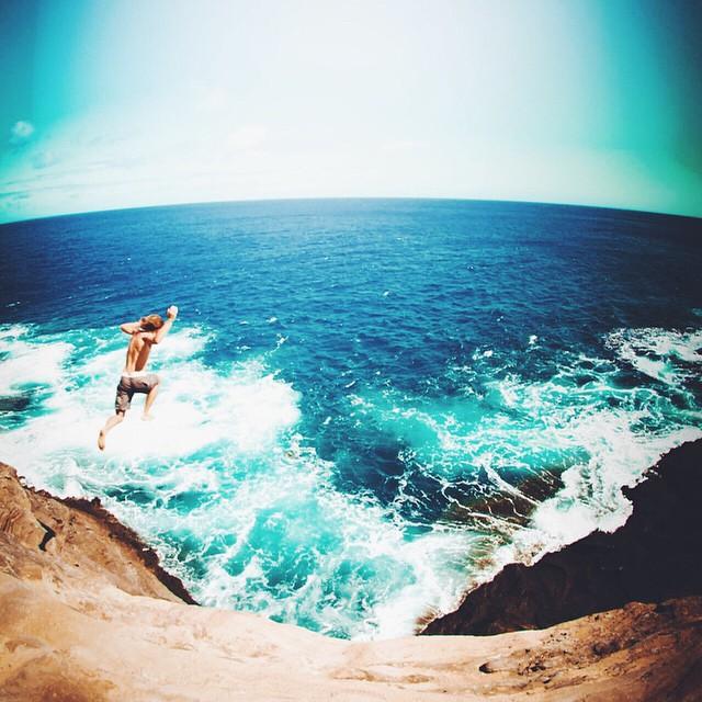 Leap of faith! #doepicshit #nectarshades #thesweetlife