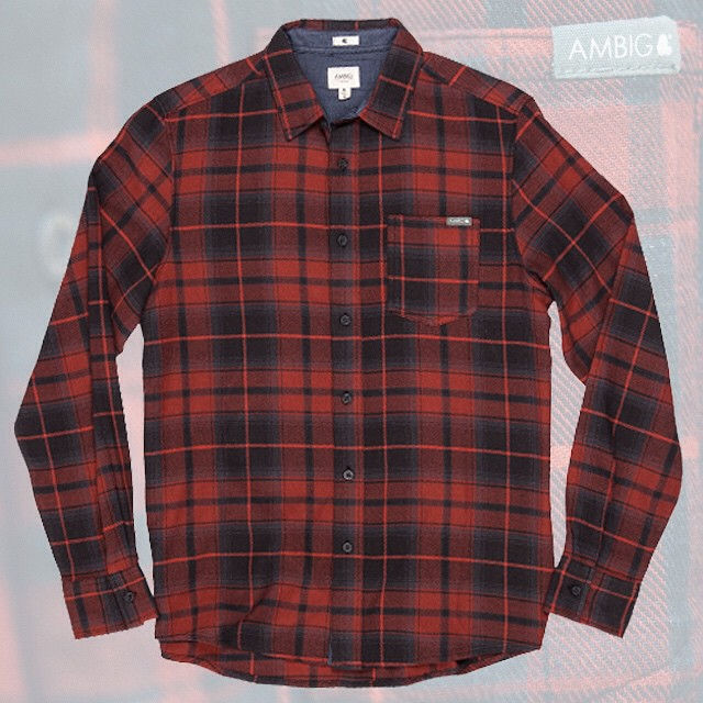 It's flannel time!! Get the DOCK FLANNEL over at ambig.com available in rust and olive. #ambigclothing #dockflannel #flannel