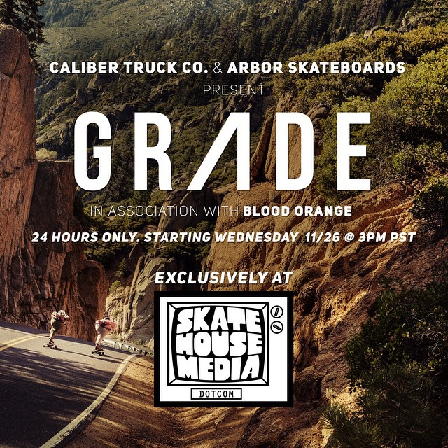 #GRADE will be online for 24 hours on @skatehousemedia this Wednesday 11/26! Be sure to catch it while it's live!