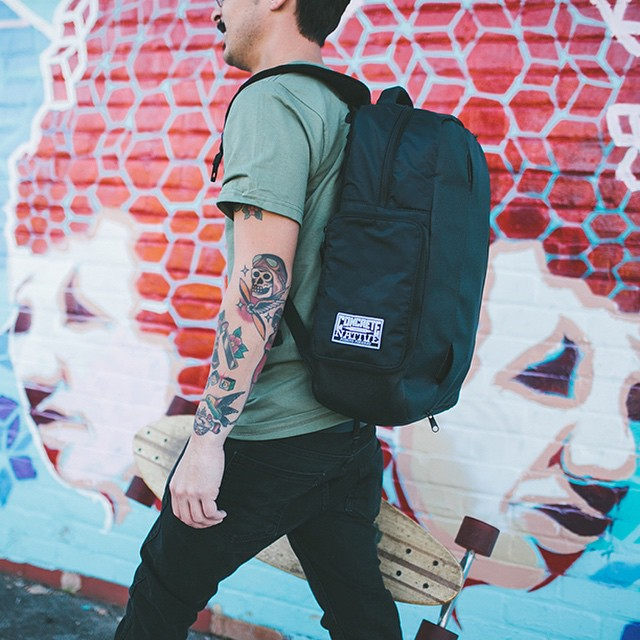 Did we mention that the OG backpack goes perfect with everything in our new line and can handle anything the fall and winter months throw at you! #concretenative #fall #winter #realshitforrealpeople