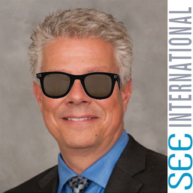 Our ‪#‎MCM‬ today goes out to Randal Avolio. CEO of S.E.E. International wearing our Moonlight shades. ‪#‎waveborn‬ ‪#‎SEE‬