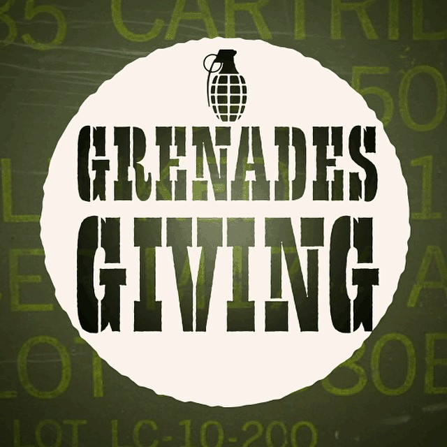 #grenadesgiving is upon us!!! For the next week we will be giving away gear to give back to the people we are thankful for. YOU!!! So follow the instructions each day for your chance to win!! WINNERS ANNOUNCED DEC 1ST  So get your hand out of the...