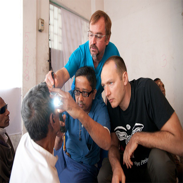Through our partner S.E.E. International we help sight-restoring operations throughout the world! #waveborn #SEE #givesight #givingtuesday