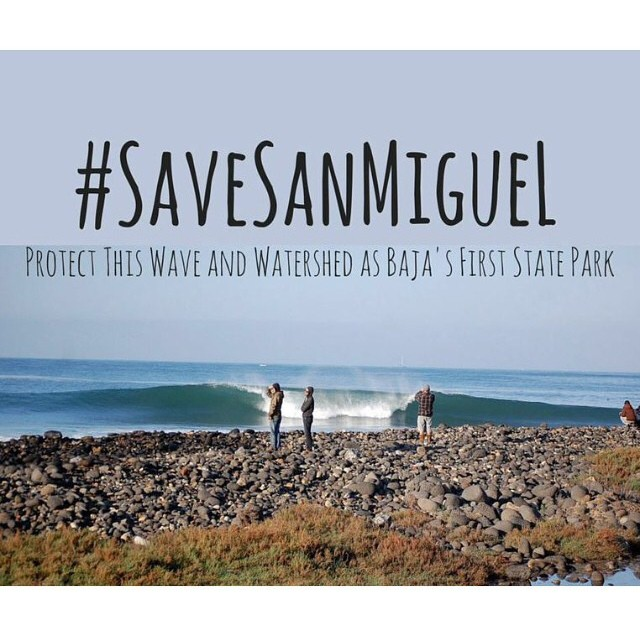 Please support @stwcoalition  and @surfing4change in their effort to create the first state park in Baja. Get over to SaveTheWaves.org and put your cyber ink down on the petition!