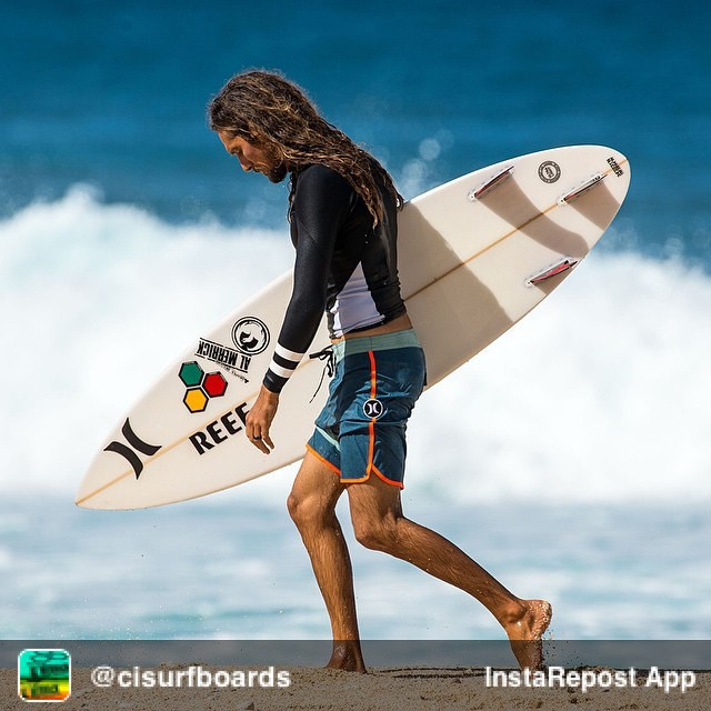 Repost from @cisurfboards via @igrepost_app, it's free! Use the @igrepost_app to save, repost Instagram pics and videos, Always a treat to see @rob_machado in Hawaii!