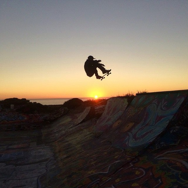 Milton Martinez @miltonskatee Frontside Ollie. Santa Cruz, California. #Volcom #Skate #TrueToThis