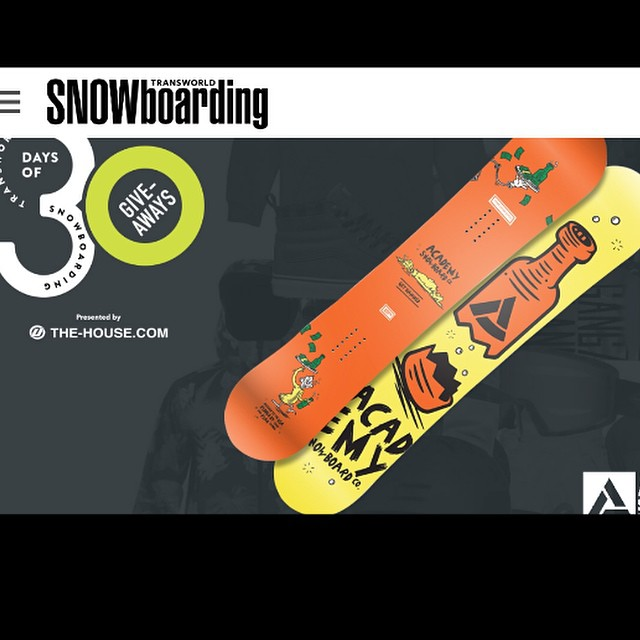 Today is a good day for free gear!! Get over to @twsnow and enter for your chance to win the acclaimed PropaCamba designed by Chad (@dopergoatroper) and @ryan_tarbell . #gethammed #goodpeople #greatsnowboards #freeboard #30daysofgiveaways...