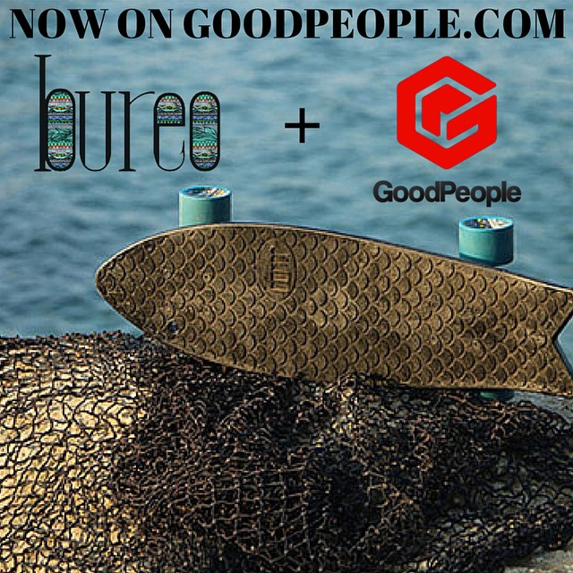 [New Brand Alert] Stoked to announce that we've added @bureoskateboards to the #GoodPeople Marketplace! ----------------------------------------------------------- In 2013 three friends set out to battle oceanic plastic pollution - they now turn...