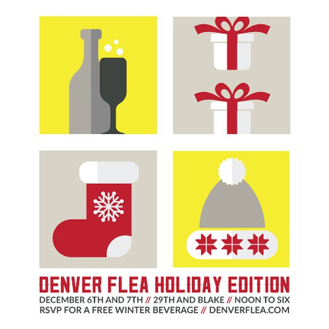 "Join us at @denver_flea December 6th for all that is the holidays. Except for my drunk uncle ranting about how Craig Morton was paid by the mob to throw the '77 Super Bowl just before puking up 12 servings of his ""special"" egg nog. He won't be there."