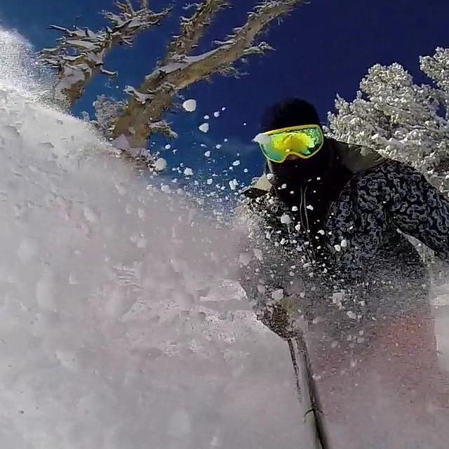 Team rider from #Utah @shansen212❄️#GoPro #FrostyVision #FrostyHeadwear #Snowboarding #Snow