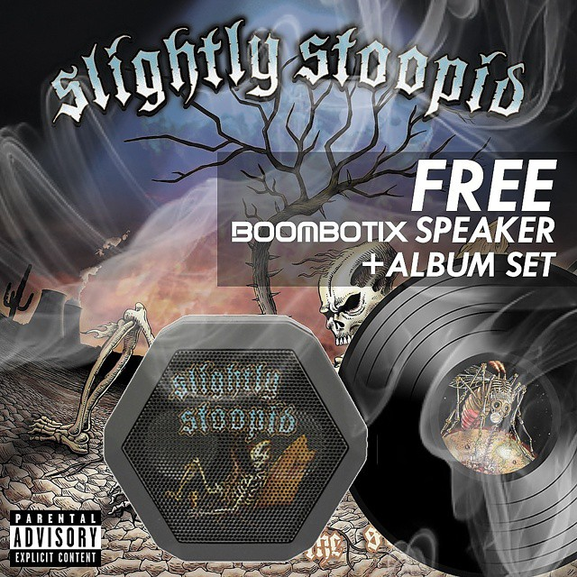 Who doesn't love free stuff? Enter our FTW #giveaway for your chance to win this @slightlystoopid sooper package! #freeisgood #vinyl #collectable #closertothesun #boombotix
