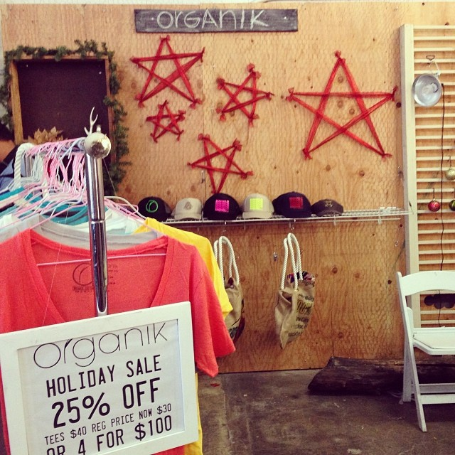 Shop til you drop with #Organik At #pinchofsalt #ourkakaako til 4 PM today!