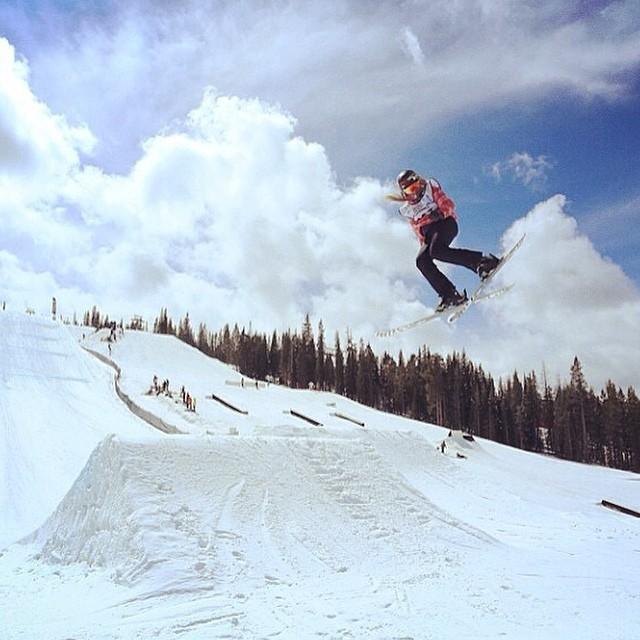 Team rider from #Colorado @kkfors❄️#FrostyHeadwear #Skiing
