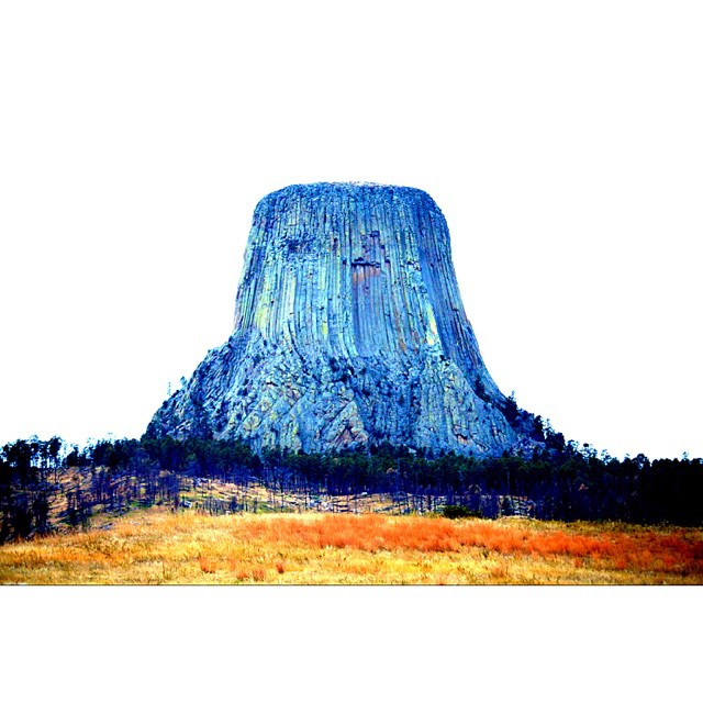 The beginning of my National Park  Series. I really can't wait to print them. Heard to believe it's been exactly one year. Stand tall and deliver this year. I know you can.  #devilstower #claytonhumphriesphotography #nationalparks #east2west120...
