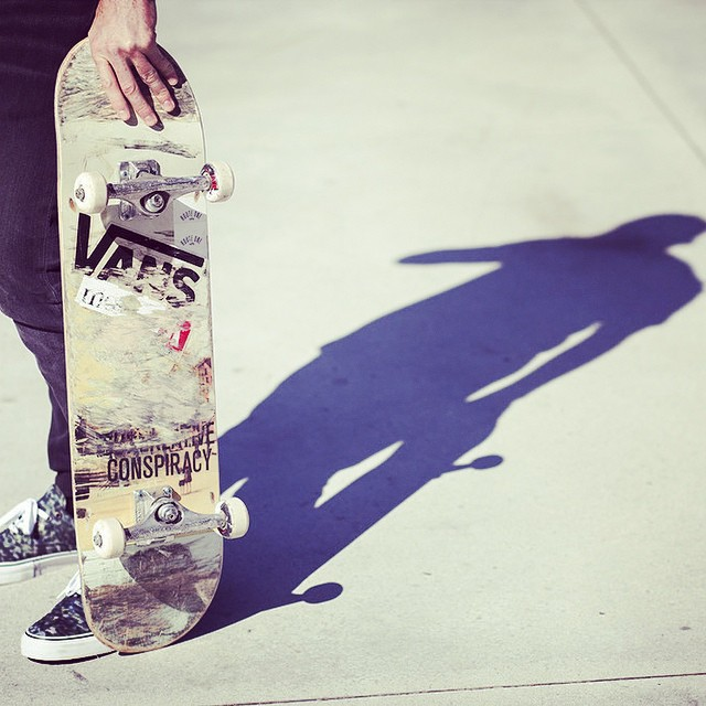 Scratch that. Josh Young's on board. #routeone #skateboarding #shade