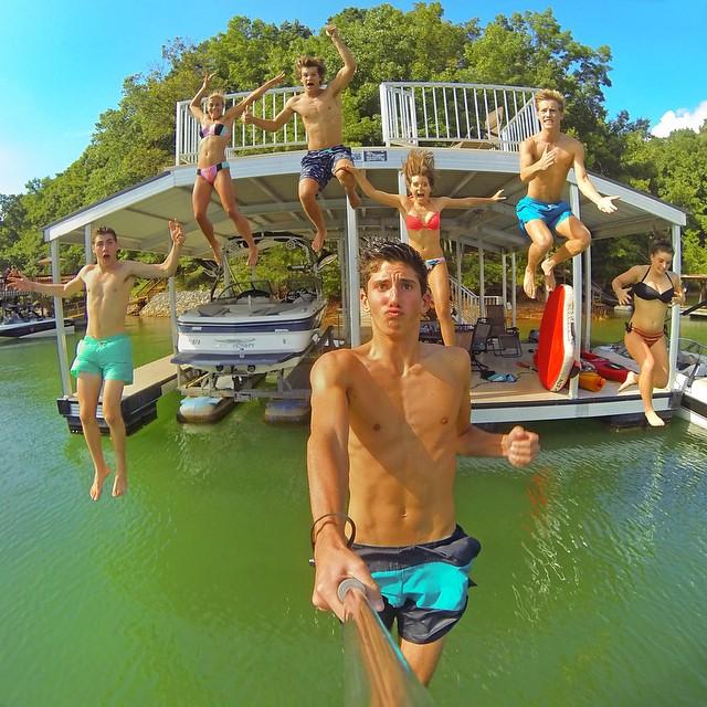 Group Selfie. Photo: @micahgilliam21 GoPro HERO3+ | GoPole Evo #gopro #gopole #gopoleevo