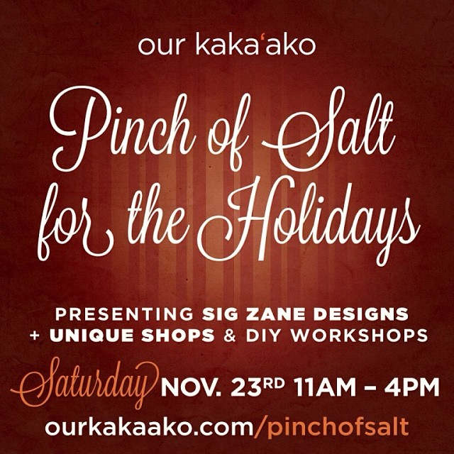 #shop for the #holidays with #Organik at @hnlnightmarket #hnlnightmarket @ourkakaako this Sat from 11-4 and save 25% off reg prices. How's that for an incentive?