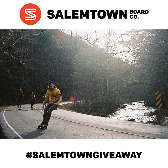 !!!!Don't forget about our giveaway!!!!! We are giving away 2 apparel items of your choice. Repost this image with the hashtag #salemtowngiveaway and we will pick a winner on Monday. #free #giveaway #skate #skateboard
