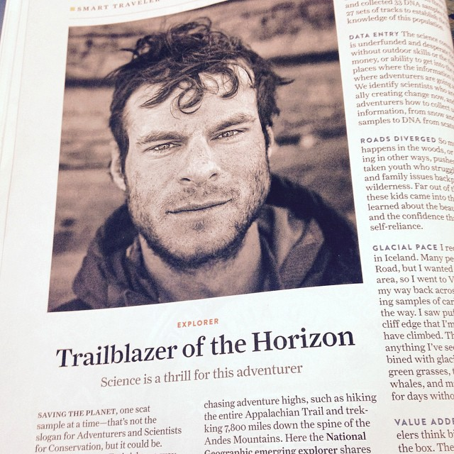 Surprise! Gregg and ASC are featured in Nat Geo Traveller! Pick up your copy today!