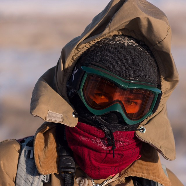 We're getting chilly just looking at this!  Temperatures hovered near -20ºF during the first #ASCLandmark training. With winter on its way, our crew is bundling up once again.  #ThrowbacktothefutureThursday #CritterCounters #winteriscoming...