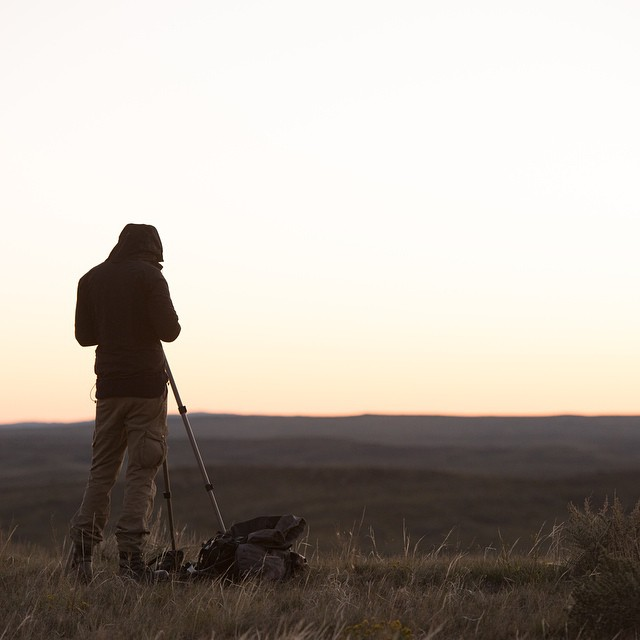 One of our faves from the #ASCLandmark crew this fall  Photo: @rhys_morgan_images  #adventurescience #crittercounters #americanprairiereserve #prairie