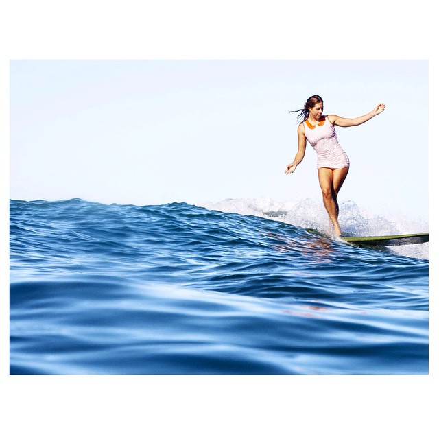 @karinarozunko wearing the Lima one piece surf suit shot this morning by @_lucrecia_ #myseealife #seealima