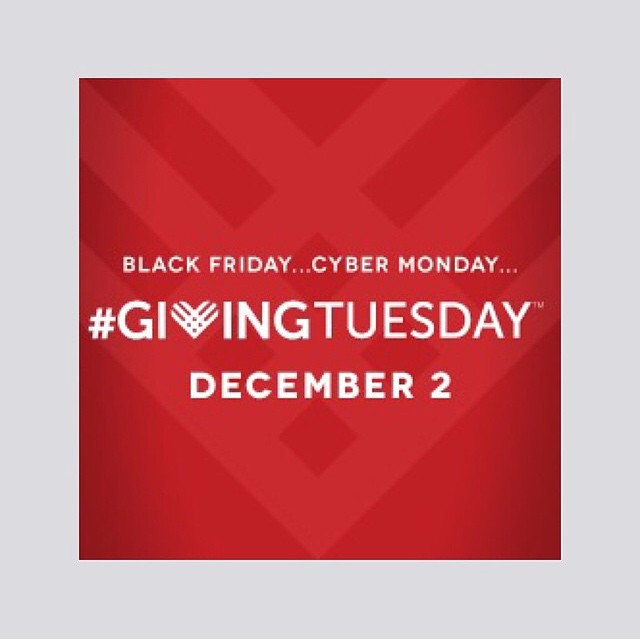 Only 6 days left until #GivingTuesday, the philanthropic response to the consumerism associated with #BlackFriday and #CyberMonday!  #SaveTheDate for this global day of giving, whether that means giving your support, service or donation to a...