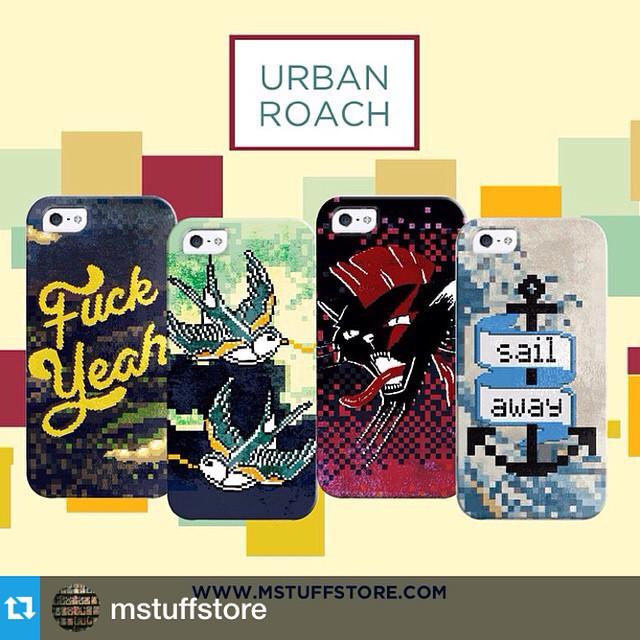 #Repost @mstuffstore with @repostapp.・・・Presentamos esta nueva colección de cases diseñadas por nuestro nuevo artista URBAN ROACH!  Disp. Para iPhones, Galaxy s3/s4/s5/s4mini y MOTO G!  Vos también podes ser Artista MStuff! artistas@mstuffstore.com ...