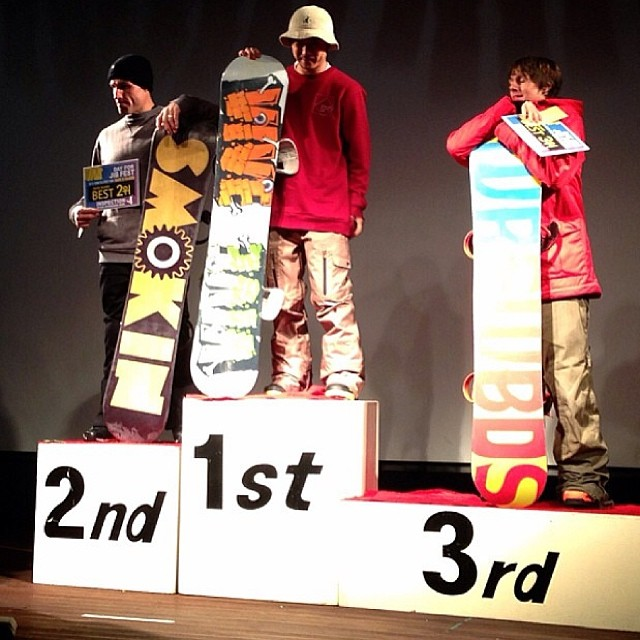 Congrats Mark- on the indoor rail comp. Mark doesn't have insta loves to shred and his biggest fan is @bee_snaps #thanksforthesupport #itseveryday #missindoorslopesaready