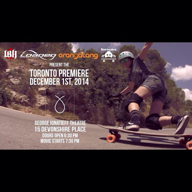 We are very proud to present the Toronto premiere of OPEN by @longboardgirlscrew! Featuring #loadedboards and #orangatang ambassadors @cindyzskates, @g_mdz, #MicaelaWilson, @gadoreitor, and @camibeast, this film promises to showcase some seriously...
