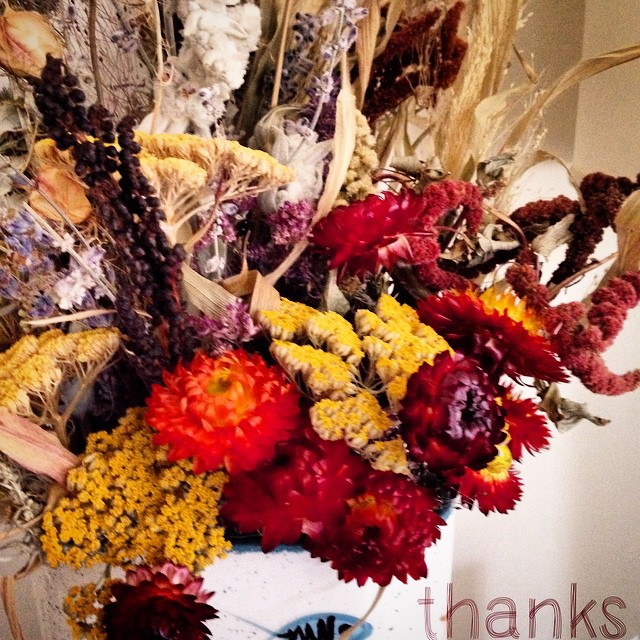 Many thanks, from our table to yours. From all of us at Threads for Thought, have a happy Thanksgiving!